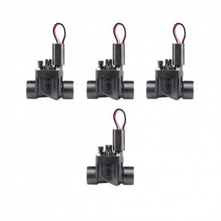 """Electroválvula PGV-101 9V 1"""" Hunter con regulador de caudal (Pack de 4 unidades)"""