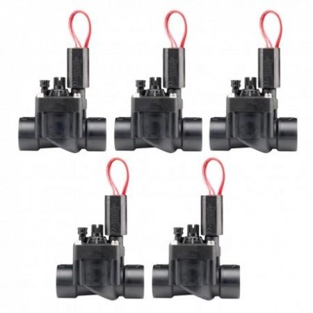 """Electroválvula PGV-101 24V 1"""" Hunter con regulador de caudal (Pack de 5 unidades)"""