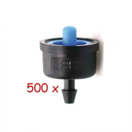 Gotero Autocompensante 2,2 l/h iDROP. 500 unidades