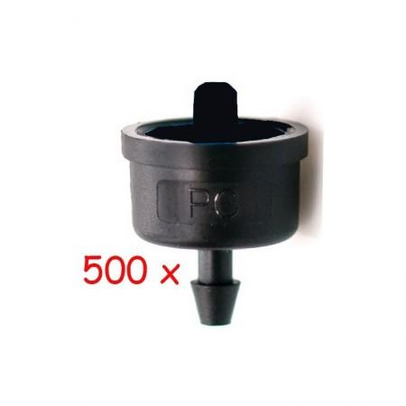 Gotero Autocompensante 6 l/h iDROP. 500 unidades
