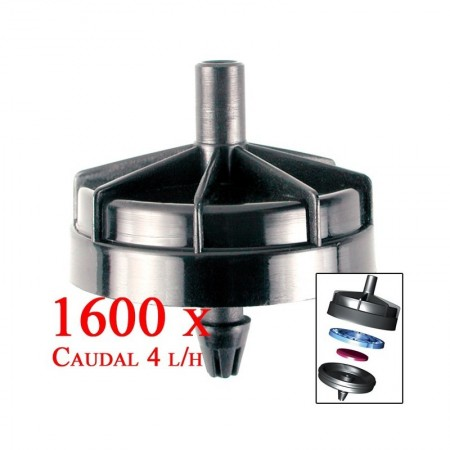 Gotero Autocompensante Seta 4 l/h. 1600 unidades