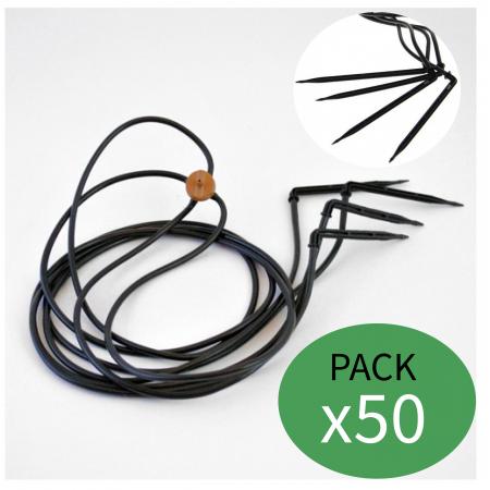 Araña o pulpo de riego 4l 45º (Pack x 50)