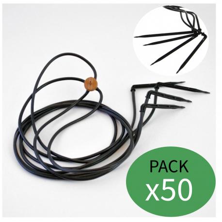 Araña o pulpo de riego 8l 45º (Pack x 50)