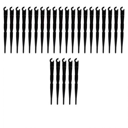 Estaca de riego por goteo para microtubo (Pack x 25)