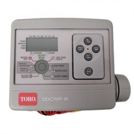 Programador riego a pilas TORO DDCWP-8-9V (8 estaciones)