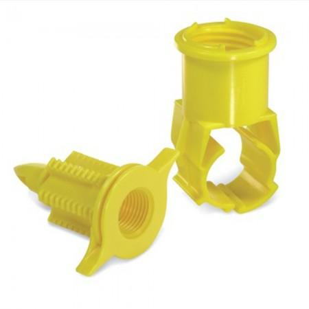 """Conector rápido para tubería de PE de 40mm 3/4"""""""