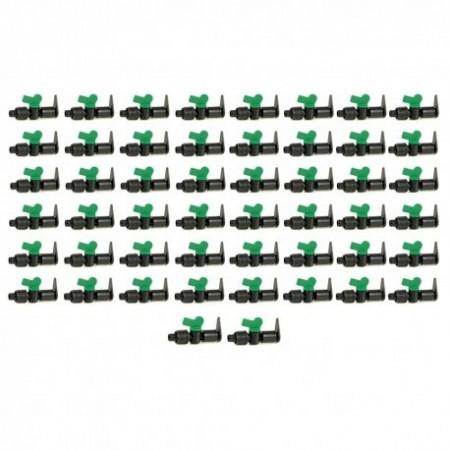 Llave de paso Layflat a Cinta de riego por goteo 16mm (Pack 50 uds)