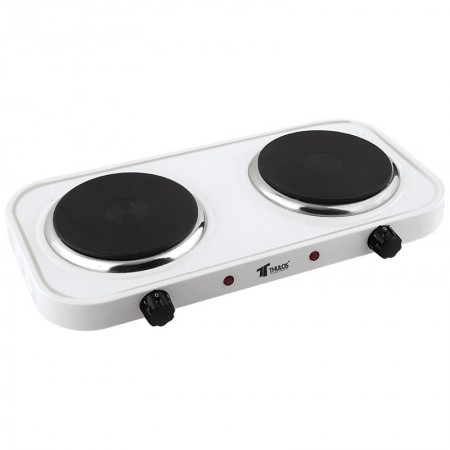 Elektrische kookplaat 2 pitten