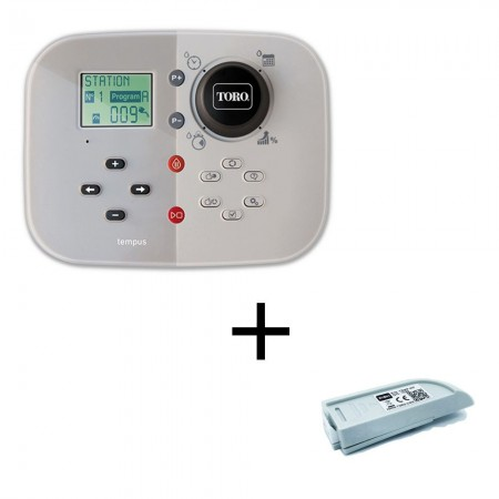 Toro Tempus Irrigatie Programmer 4 Stations Indoor 220V + Wifi Module