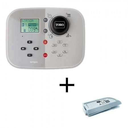 Programador riego Toro Tempus 6 Estaciones Interior 220V + Módulo Wifi