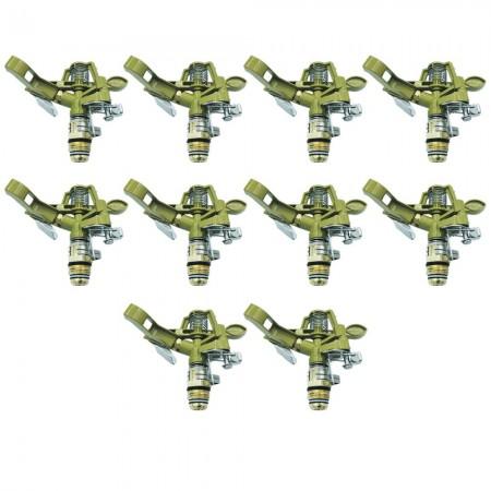 "Aspersor de zinc ajustable 1/2"" (Pack x 10)"