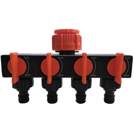 Adaptador de grifo PVC 4 salidas
