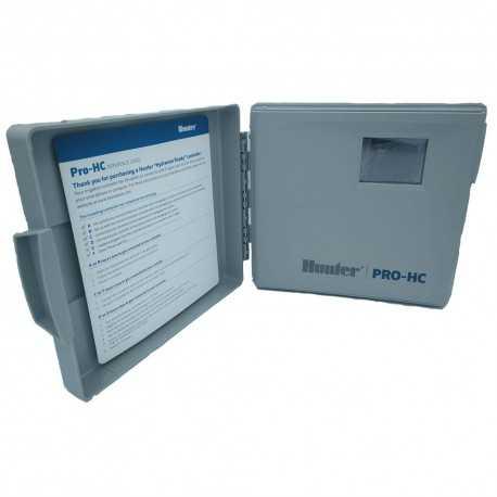 Programador WiFi Hunter Pro-HC Hydrawise 6 Zonas Interior PHC-601I-E