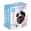 Auriculares Bluetooth inalámbricos con estuche cargador MB-EPi12 TWS color blanco