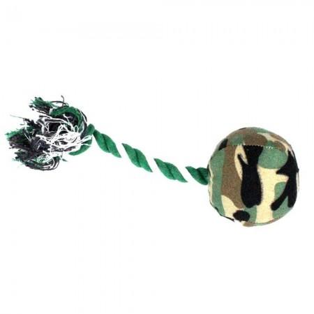 Mordedor de tela con tirador de cuerda 21 cm