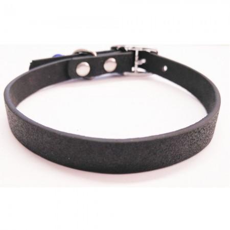 Collar para gato color negro con cascabel