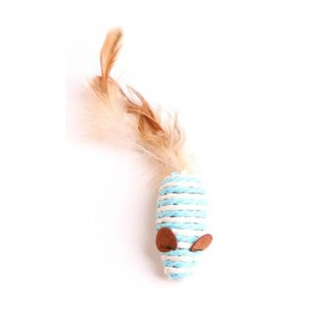 Rato de brinquedo de gato. As cores são servidas de acordo com a disponibilidade