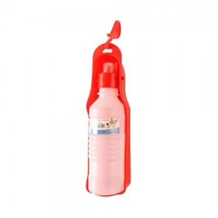 Bebedero portátil AquaPet 250 ml. Colores se sirven según disponibilidad