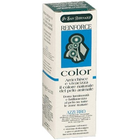 Colorante azul Reinforce para perros Iv San Bernard 30ml