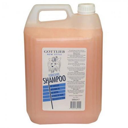 Champú Yorkshire con aceite de macadamia para perros 5 litros