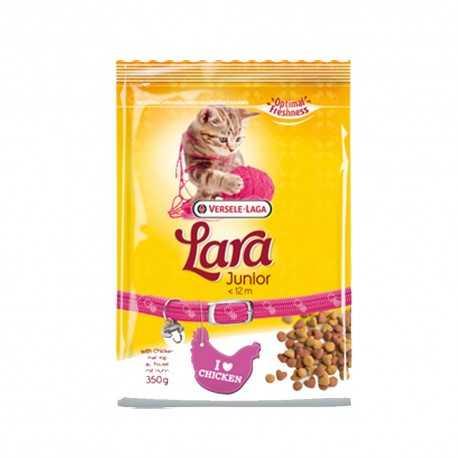 Pienso para gatitos Lara Junior con pollo 350 grs