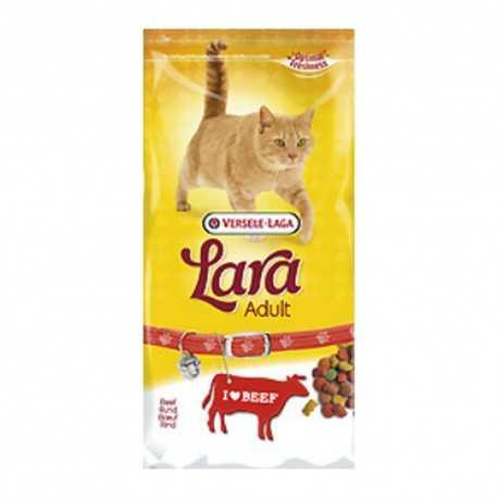 Pienso para gatos Lara con buey 350 grs