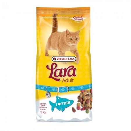 Pienso para gatos Lara con salmón 2 kgs