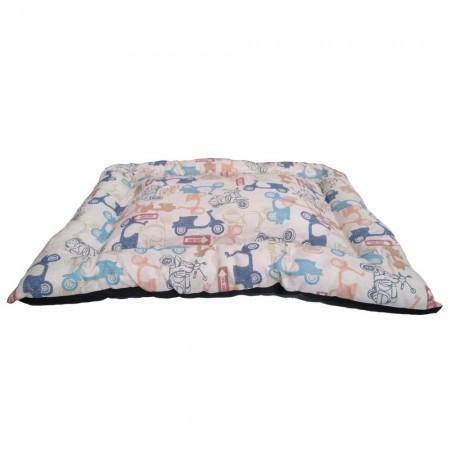 Colchón de loneta Triana con estampado Vespitas 65 x 55 x 4 cms