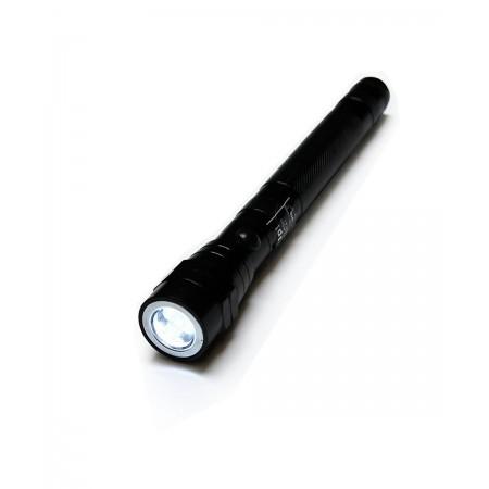 Linterna de metal LED - Pilas 2 x D