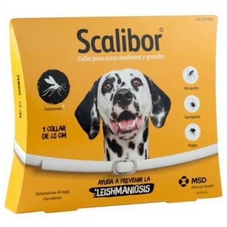 Collar antiparasitario contra pulgas y garrapatas Scalibor 65 cms