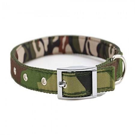 Collar de perro con estampado de camuflaje 35 cms