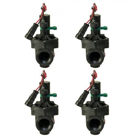 "Electroválvula Rain RN 150 9V 3/4"" con regulador de caudal (Pack x 4)"