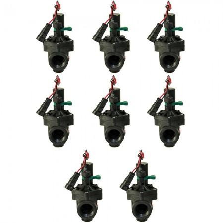 "Electroválvula Rain RN 150 9V 3/4"" con regulador de caudal (Pack x 8)"