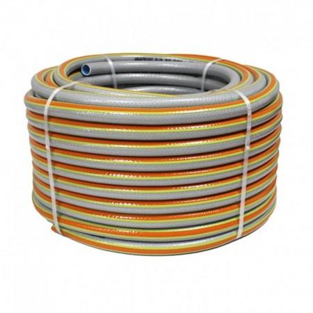 Manguera Aquatricot Plus 5 capas 15mm rollo de 50 mts