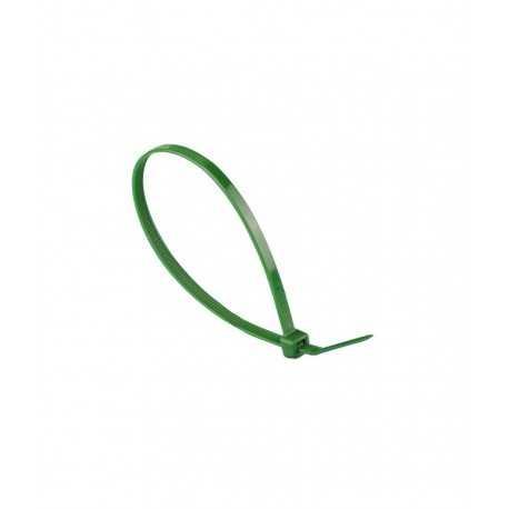 Brida nylon verde 4.6 x 200 mm - 100 pzas