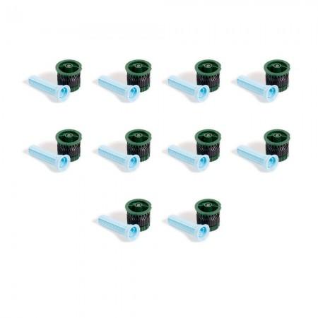 Tobera difusores 8 VAN. Alcance 2,40 mts (Pack x 10)