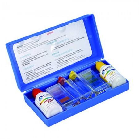 Chloor- en pH-analysekit voor zwembaden