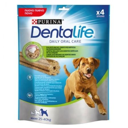 Purina Dentalife golosina dental para Perro Grande, 5 paquetes de 4 sticks, 5x142g