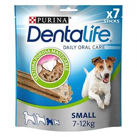 Purina Dentalife golosina dental para Perro Pequeño, 5 paquetes de 7 sticks, 5x115g