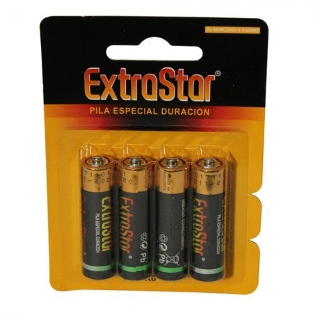 Batteria alcalina AA (Blister 4)