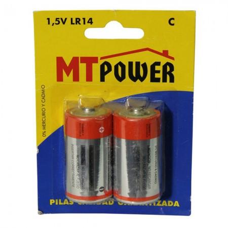 Alkaline batterij Power C (blister 2-eenheden)