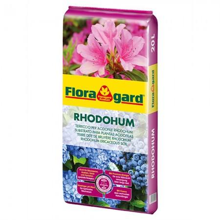Sustrato para plantas acidófilas Rhodohum Floragard 20 litros