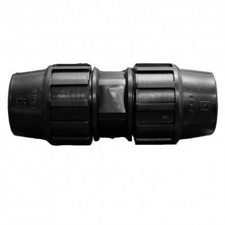 Enlace recto PE 40mm
