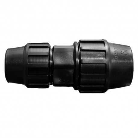 Enlace recto reducido PE 63mm - 50mm