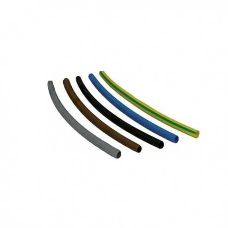 Tubo termoretraibile 6.4 - 10 pezzi - colori assortiti