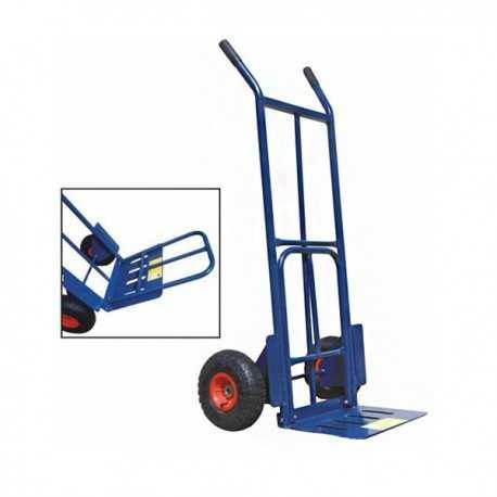 Carrello industriale doppia pala - 250 kg