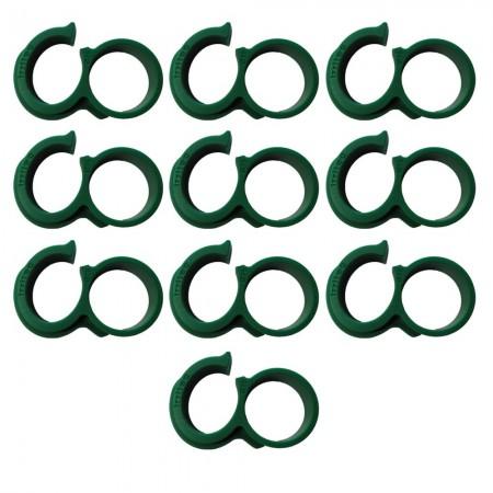 Anilla final abierta para tubería de riego Ø16 (Pack x 10)
