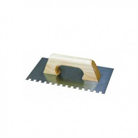 Spatola dentata 280 x 115 mm