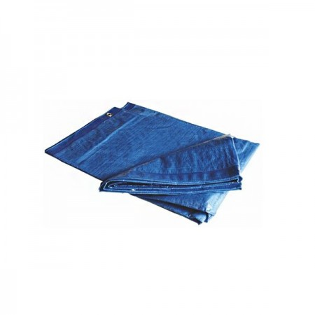 Toldo reforzado 6 x 10 mts 110 gr azul