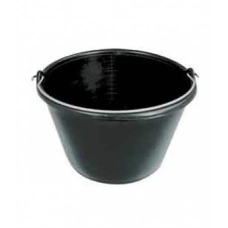 Cubo plástico negro 16 lts